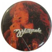 Whitesnake - 'David Singing' Button Badge